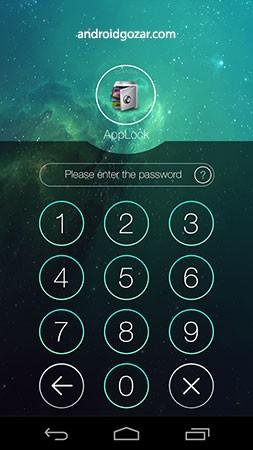 دانلود AppLock Premium 3.2.2 نرم افزار قفل کردن برنامه ها اندروید