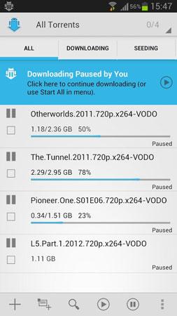 aTorrent Pro – Torrent App 3032 نرم افزار دانلود از تورنت