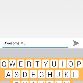 AwesomeIME – FLAT Keyboard 1.5 دانلود نرم افزار صفحه کلید تخت