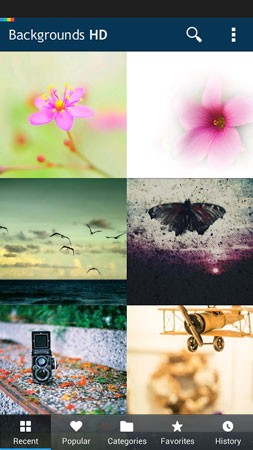 Backgrounds HD Wallpapers Pro 4.9.240 دانلود نرم افزار پس زمینه های زیبا