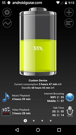 دانلود Battery HD Pro 1.94 – برنامه بهینه سازی باتری اندروید