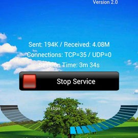 BlueDUN 3.6 اشتراک گذاری اینترنت موبایل از طریق بلوتوث