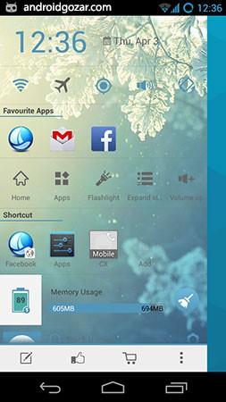 Sidebar Launcher PRO 3.4.3 دانلود نرم افزار لانچر نوار کناری