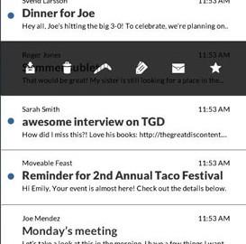 Email App for Gmail & Exchange 0.8.36 دانلود نرم افزار مدیریت ایمیل جیمیل