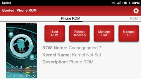 Boot Manager Pro 3.2.6 Download manager software and install several ROMs on the phone