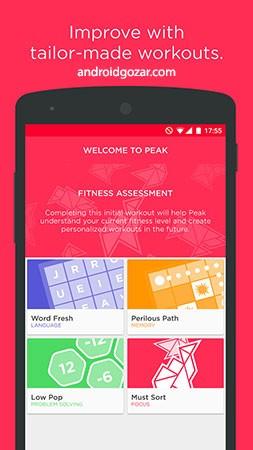 Peak Pro – Brain Games 3.26.42 دانلود نرم افزار پرورش مغز اندروید