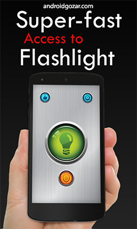 Power Button FlashLight /Torch Pro 2.3.9 دانلود چراغ قوه حرفه ای