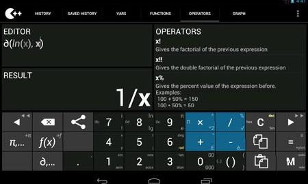 Calculator ++ Premium 2.2.7 دانلود ماشین حساب پیشرفته اندروید