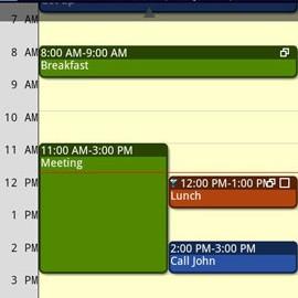 دانلود CalenGoo 1.0.180 – برنامه تقویم و مدیریت کارها اندروید