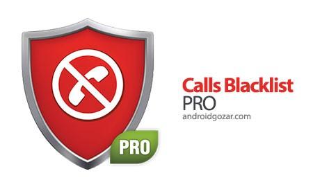Calls Blacklist PRO 3.2.44 مسدود کردن تماس و پیامک اندروید