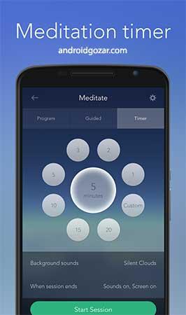 Calm Pro – Meditate, Sleep, Relax 2.7 دانلود نرم افزار مدیتیت، خواب و آرامش