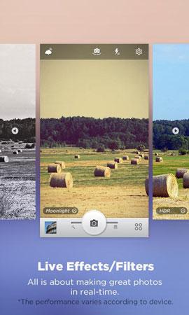 دانلود Camera360 Ultimate Full 9.9.7 – برنامه دوربین عکاسی اندروید