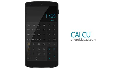 CALCU™ Stylish Calculator Premium 3.4.2 دانلود ماشین حساب شیک اندروید