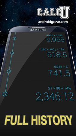 CALCU™ Stylish Calculator Premium 3.8.0 دانلود ماشین حساب شیک اندروید