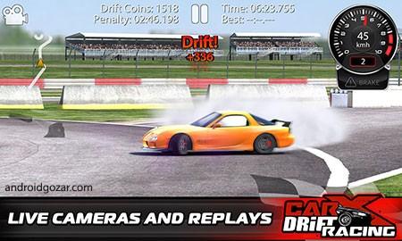 CarX Drift Racing 1.16.2 دانلود بازی ماشین مسابقه ای اندروید + مود