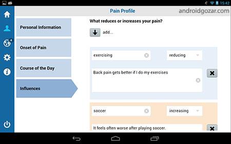 Catch My Pain PRO – Pain Diary 2.9.3 دانلود نرم افزار ثبت درد
