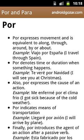 Spanish Class 6.11 Paid دانلود نرم افزار آموزش زبان اسپانیایی