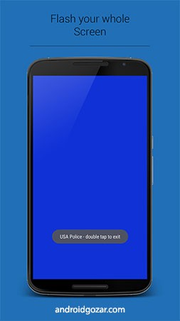 Police Lights & Sirens Pro 6.1.1 دانلود نرم افزار چراغ ها و آژیر پلیس