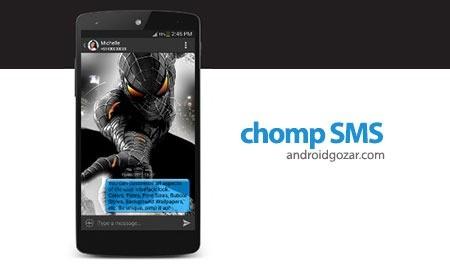 chomp SMS Pro 8.10 دانلود برنامه مدیریت پیامک ها اندروید