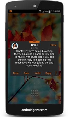 دانلود chomp SMS Pro 8.20 برنامه مدیریت پیامک ها اندروید