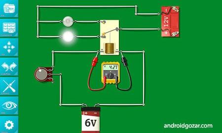Circuit Builder 1.2 دانلود نرم افزار ساخت مدار الکترونیکی
