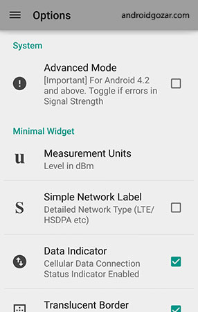 Signal Strength Premium 21.1.8 دانلود نرم افزار قدرت سیگنال شبکه اندروید