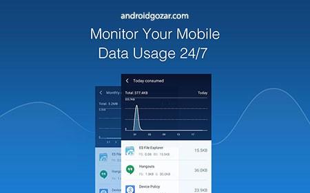 CM Data Manager 2.9.2 دانلود نرم افزار مدیریت مصرف داده و تست سرعت
