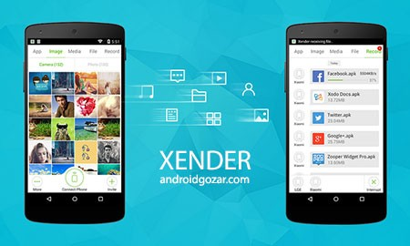 Xender: File Transfer, Sharing 3.3.1020 انتقال سریع فایل اندروید