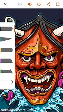 Adobe Illustrator Draw 3.6.6 دانلود نرم افزار طراحی دیجیتال اندروید