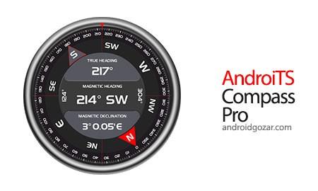 AndroiTS Compass Pro 2.17 دانلود نرم افزار قطب نمای حرفه ای