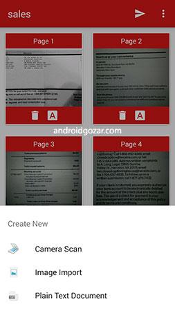 PDF Document Scanner Premium 3.3.1 اسکن اسناد PDF اندروید
