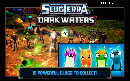 Slugterra: Dark Waters 1.6.3 دانلود بازی ماجراجویی اکشن آب های تیره+مود+دیتا