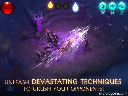 دانلود Blade Bound 2.2.4 بازی مبارزه ای اکشن خیز شمشیر اندروید + مود