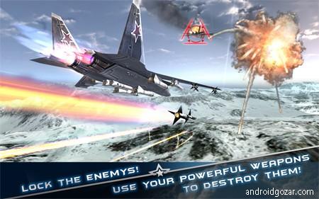 Morden Air Combat(3D) 1.0 دانلود بازی نبرد هواپیماهای جنگی