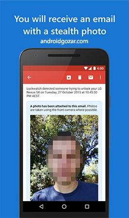 دانلود Lockwatch Premium 6.2.0 برنامه دزدگیر موبایل اندروید
