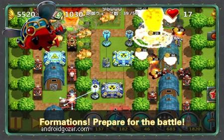 Little Commander 2 1.7.0 دانلود بازی فرمانده کوچک 2 اندروید + مود