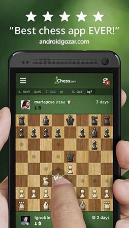 دانلود Chess – Play & Learn 4.1.0 بازی و آموزش شطرنج اندروید + مود