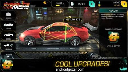 Cyberline Racing 1.0.11131 دانلود بازی مسابقات رالی مرگ+مود+دیتا