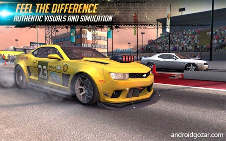 دانلود Nitro Nation Drag & Drift 6.11.0 بازی ماشین سواری درگ اندروید + مود