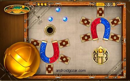Slingshot Puzzle 2.95 دانلود بازی پازل تیر و کمان+دیتا