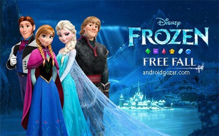 Frozen Free Fall 7.8.1 دانلود بازی فروزن سرزمین یخی اندروید + مود
