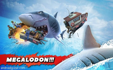 Hungry Shark Evolution 6.6.2 دانلود بازی کوسه گرسنه اندروید + مود