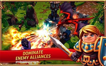 Royal Revolt 2 4.5.0 دانلود بازی شورش سلطنتی 2 اندروید