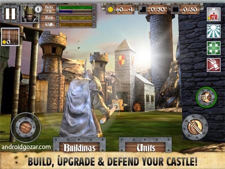 Heroes and Castles 2 1.01.05.1~4 دانلود بازی قهرمانان و قلعه ها 2 اندروید + مود + دیتا