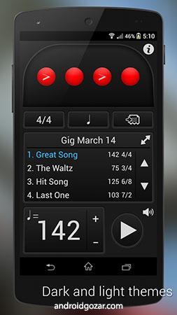 Metronome: Tempo 2.2.4 دانلود نرم افزار مترونوم
