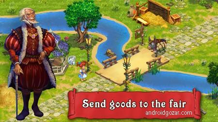 دانلود Farmdale 6.0.1 بازی مزرعه داری و کشاورزی اندروید + مود