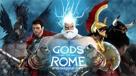 Gods of Rome 1.4.1a دانلود بازی خدایان روم + مود + دیتا