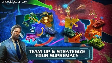 World at Arms 4.2.4d دانلود بازی استراتژی جهان مسلح اندروید
