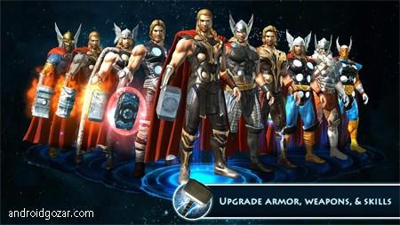 Thor: TDW – The Official Game 1.2.0n دانلود بازی اکشن ماجراجویی ثور+مود+دیتا