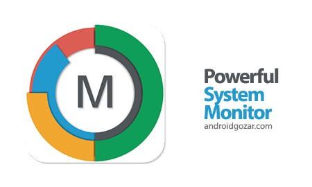 Powerful System Monitor 5.7.2 نرم افزار نظارت بر سیستم اندروید